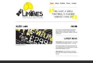 Dos Limones Web Design