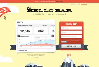 The HelloBar