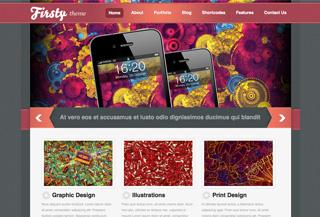 Firsty WordPress Theme