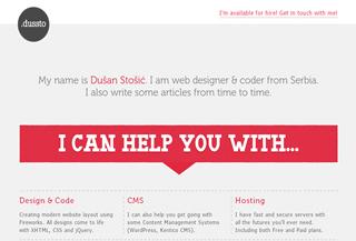 dussto // web designer & coder