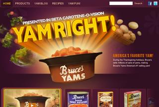 Bruce's Yams   Yam Right!