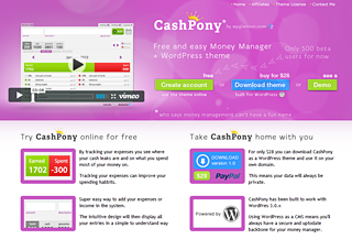 Cash Pony Money Manager
