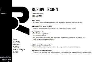 Robi09 Blog&Portfolio