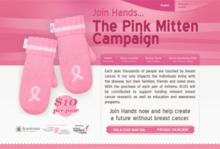 The Pink Mitten Campaign