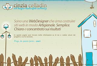 Cinzia Celladin – Web Designer