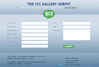 CSS Gallery submit