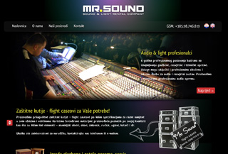 MR.SOUND - sound and light