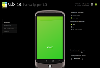 Wixita Live Wallpaper 1.3