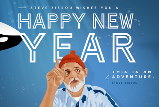 Steeve Zissou Greetings Card