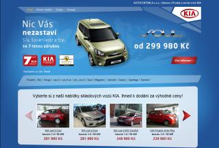 Prodej vozu KIA
