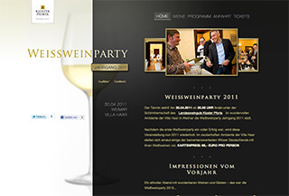 Weissweinparty 2011