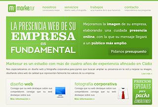 Markesur - Diseño web en Cádiz