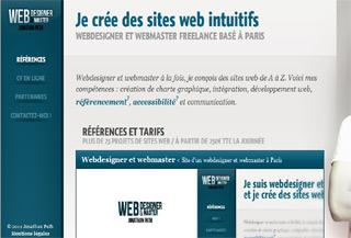Webdesigner and webmaster