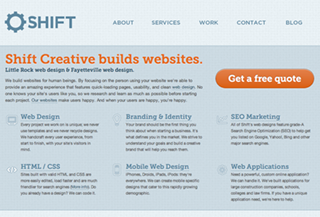 Shift Creative Web Design