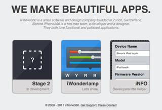 iPhone360 Development