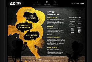 VOZ Agence Web
