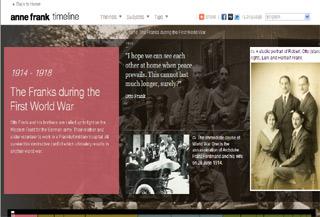 The Anne Frank Timeline