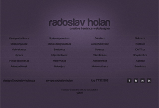 Webdeigner Radoslav Holan