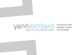 Yann Lombard\\\'s portfolio