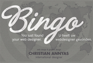Christian Annyas - web design