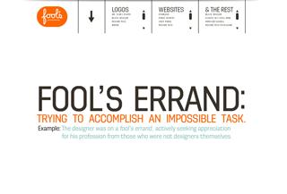 fool\'s errand