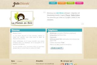 Julie Zbierski Webdesign