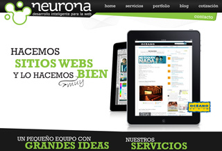 Neurona Diseño web