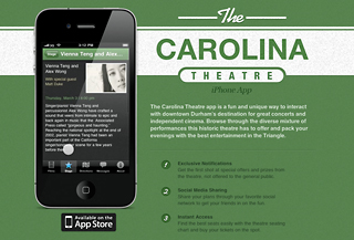 The Carolina Theatre App