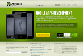 AppStrides mobile apps