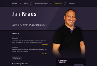 Jan Kraus - official website