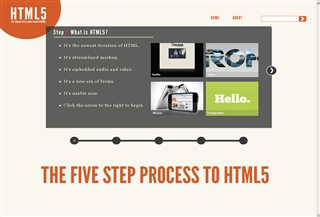 5steps to Html5
