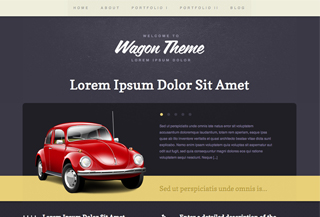 Wagon WordPress Theme