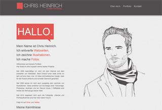 Chris Heinrich Webfolio