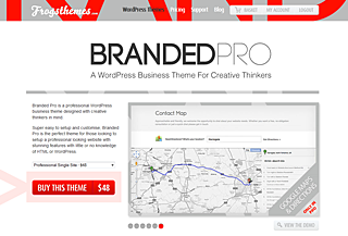 Branded Pro WordPress Theme