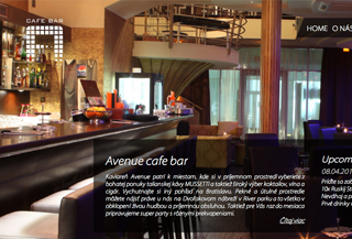 Avenue cafe bar