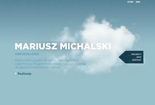 Mariusz Michalski Portfolio