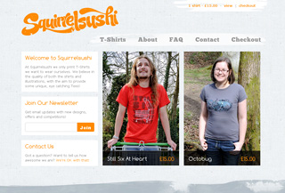 SquirrelsushiT-Shirts