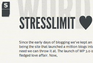 StressLimit loves WordPress