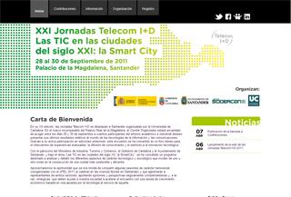 XXI Jornadas Telecom I+D 2011