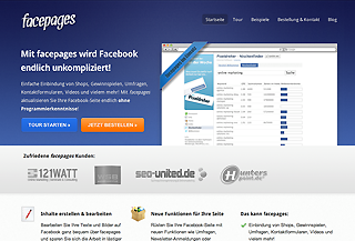 facepages - Fanpage Generator