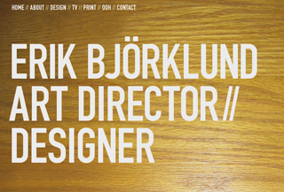 Erik Bjorkund's Portfolio