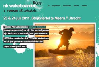 NK wakeboarden