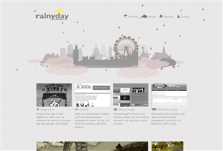 Rainy day interactive