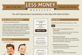 LessMoney Workshop