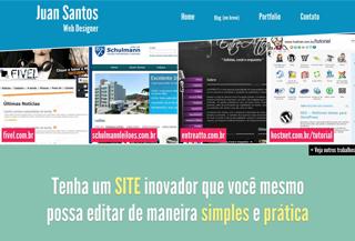 Juan Santos - Web Designer