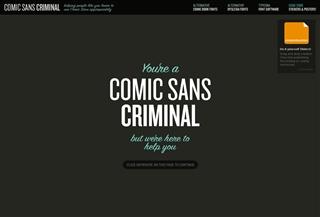 Comic Sans Criminal