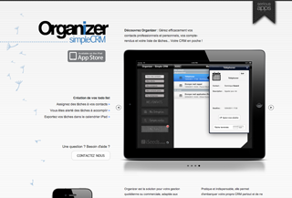 Organizer - Simple CRM iPad