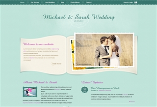 Wedding Page PREMIUM THEME