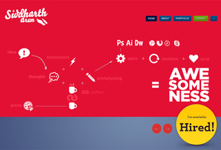 Siddharth Arun - Creative UI