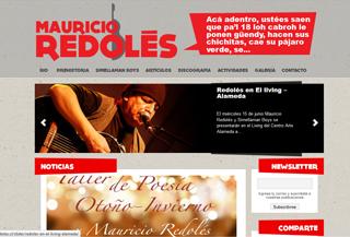 Mauricio Redolés Sitio Oficial